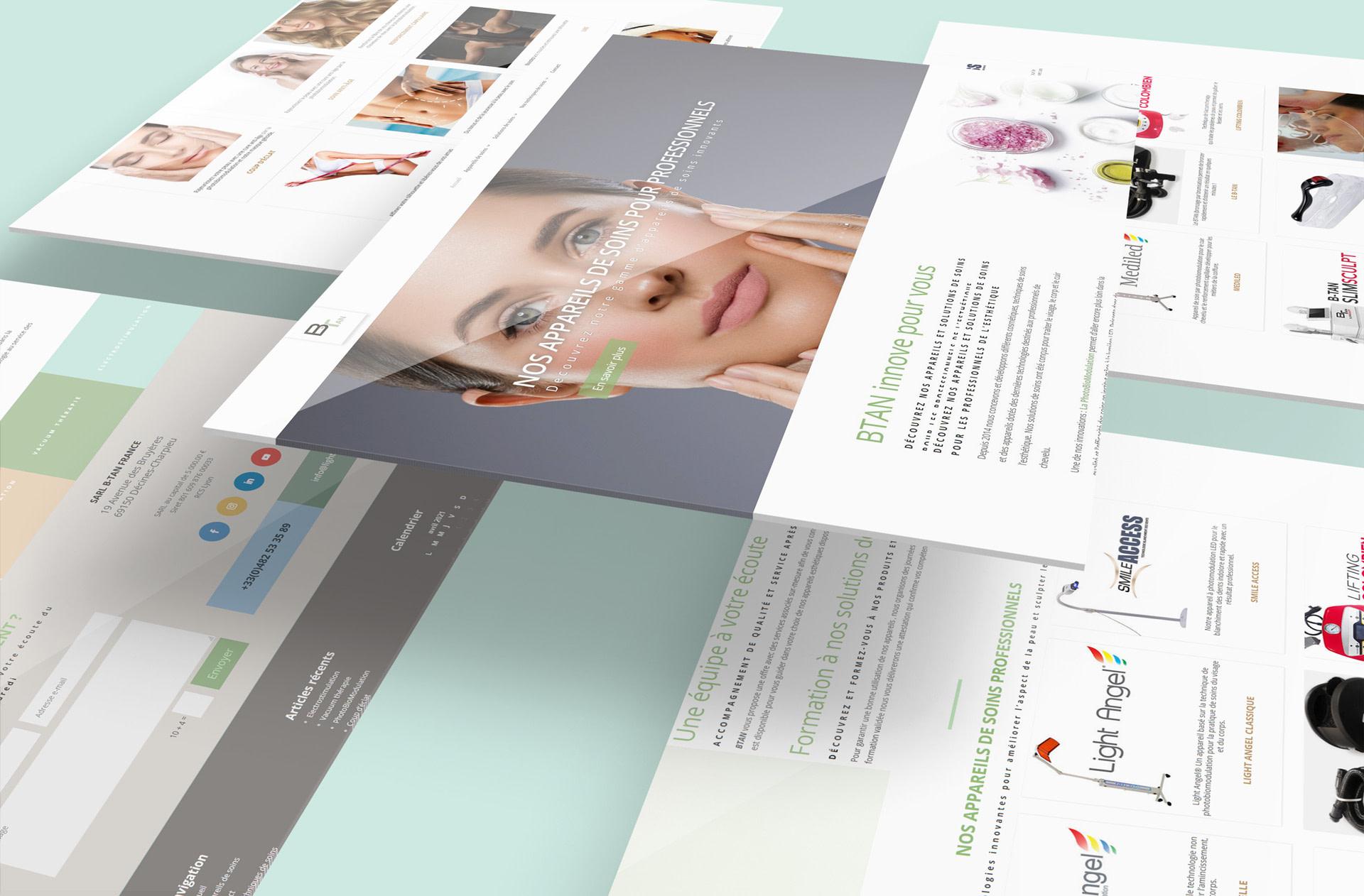 Site internet btan-esthetique.com